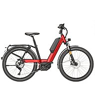 Riese & Müller Nevo Touring HS (2018) - citybike elettrica - donna, Red