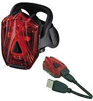 RMS Lava 3 LED USB - Rücklicht, Red
