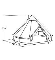 Robens Klondike - tenda per campeggio, Brown