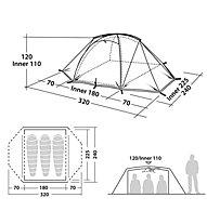 Robens Lodge 3 - Campingzelt