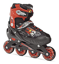 Roces Compy 6.0 Boy - Inlineskates, Black/Red