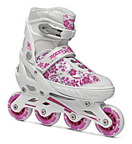 Roces Compy 8.0 Girl - Inlineskates, White/Pink