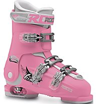 Roces Idea Free 22,5-25,5 - Skischuh All Mountain - Kinder, Pink/White