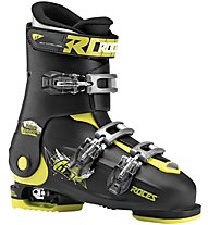 Roces Idea Free 22,5-25,5 - scarpone sci - bambino, Black/Yellow