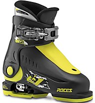 Roces Idea Up 16-18,5 - scarpone sci - bambino, Black/Yellow