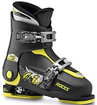 Roces Idea Up 19-22 - scarpone sci - bambino, Black/Yellow