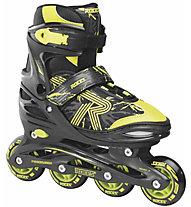 Roces Jockey 3.0 - pattini in linea, Black/Yellow
