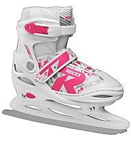 Roces Jokey Ice 2.0 Girl - Schlittschuhe - Mädchen, White/Pink