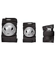 Roces Junior Extra Pack - Schützer Set, Black/Grey