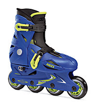 Roces Orlando III Boy Kinder-Inlineskates, Blue/Yellow