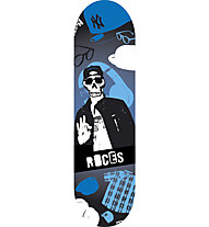 "Roces Skull Mini 24"" - skateboard - bambino, Blue"