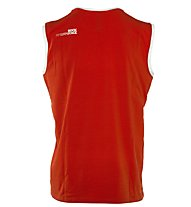 Rock Experience 2 Options Tank - ärmelloses Shirt, Caviar/Fiery Red