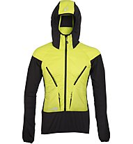 Rock Experience Alpine Padded Jacket Giacca con cappuccio, Yellow