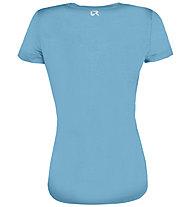 Rock Experience Chandler SS - T-shirt - donna, Light Blue