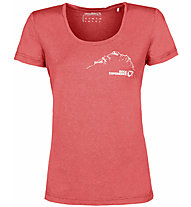 Rock Experience Chandler SS - T-shirt - donna, Red