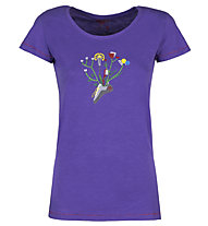 Rock Experience Colter - T-Shirt arrampicata - donna, Violet