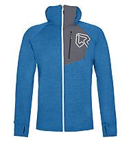 Rock Experience Copperhead H. Full Zip Fleece - giacca in pile con cappuccio - uomo, Blue