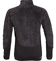 Rock Experience Crest Full Zip Fleece Man Herren Fleecejacke, Black