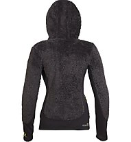 Rock Experience Crest Full Zip Fleece Wom Giacca In Pile Donna, Black