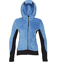 Rock Experience Crest Full Zip Fleece Wom Damen Fleecejacke, Light Blue