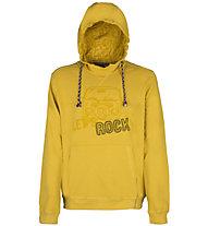 Rock Experience Fresno - felpa con cappuccio - uomo, Dark Yellow