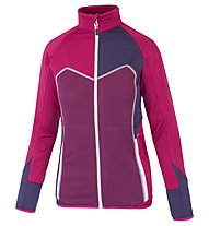 Rock Experience Frida - Fleecejacke Trekking - Damen, Dark Red
