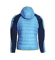 Rock Experience Icefall giacca, Swedish Blue/Poseidon
