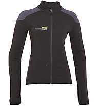 Rock Experience Igloo Full Zip Fleece Giacca In Pile Donna, Black