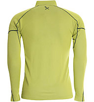 Rock Experience Infinity 1/2 Zip Shirt Langarm, Lime Punch