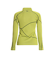 Rock Experience Infinity 1/2 Zip maglia manica lunga donna, Lime Punch