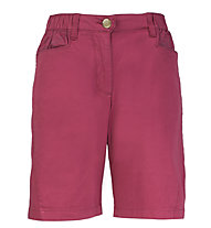 Rock Experience Jurupa - pantaloni corti arrampicata - donna, Dark Red