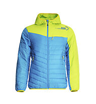 Rock Experience Kodiak Jacke, Swedish Blue/Lime Punch