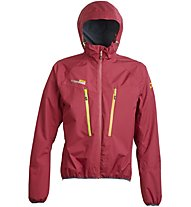 Rock Experience Mountain Man Pro Jacket Herren Hardshelljacke mit Kapuze, Red
