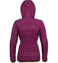 Rock Experience New Icefall Padded Damen Hybridjacke mit Kapuze, Pink