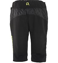 Rock Experience New Prism Padded Short Pantaloni corti Scialpinismo, Black