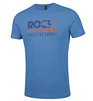 Rock Experience Prima Sportler T-Shirt arrampicata, Blue