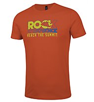 Rock Experience Prima Sportler T-Shirt arrampicata, Orange