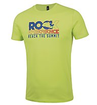 Rock Experience Prima Sportler T-Shirt arrampicata, Green