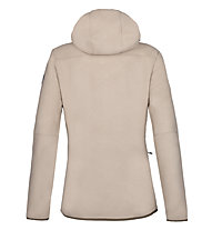 Rock Experience Re.Bear Fleece - giacca in pile - donna, Beige