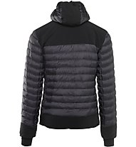 Rock Experience Stone Hange Mixed Padded Jacket Men Giacca in piuma, Grey