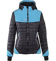 Rock Experience Stone Henge Mixed Padded Wom Damen Daunenbergjacke, Black/Light Blue