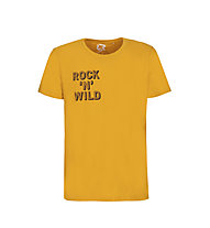 Rock Experience Svaselina - T-Shirt - Herren, Yellow
