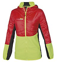 Rock Experience Transformer Softshelljacke, Fiery Red/Lime Punch/Caviar