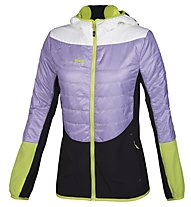 Rock Experience Transformer Jacke Damen, Lavander/Bright White/Lime Punch