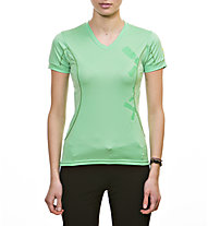 Rock Experience Wave T-Shirt trekking donna, Spring Bouquet