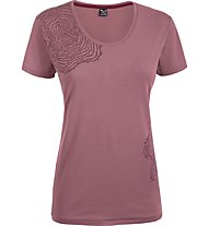 Salewa 80 Years T-shirt cotone donna, Antique Rose
