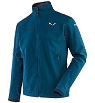 Salewa Cesano SW - giacca softshell trekking - uomo, Blue