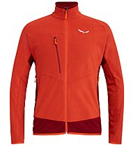 Salewa Drava 2 PL - giacca in pile - uomo, Orange
