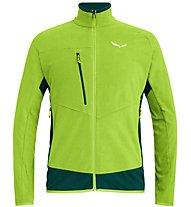 Salewa Drava 2 PL - giacca in pile - uomo, Green