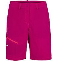 Salewa Isea Dry - kurze Wander- und Trekkinghose - Damen, Dark Pink